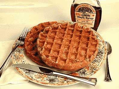 Waffle Recipes, including Sourdough Starter Waffles